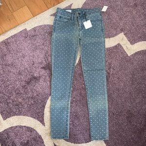 GAP Printed Skinny Legging Jeans